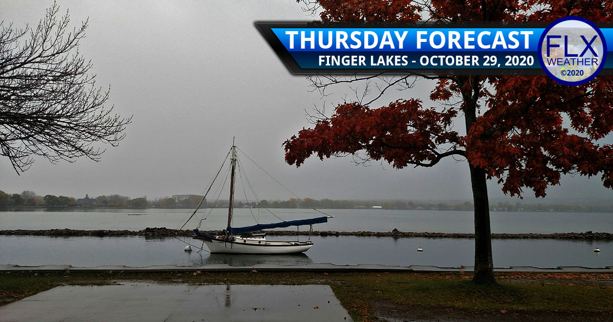 finger lakes weather forecast thursday october 29 2020 rain snow zeta