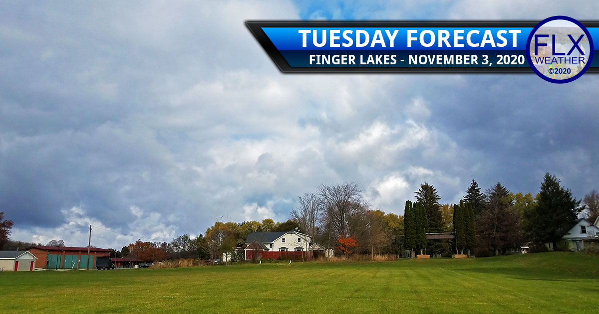 finger lakes weather forecast tuesday november 3 2020 clouds sun front cool warm up