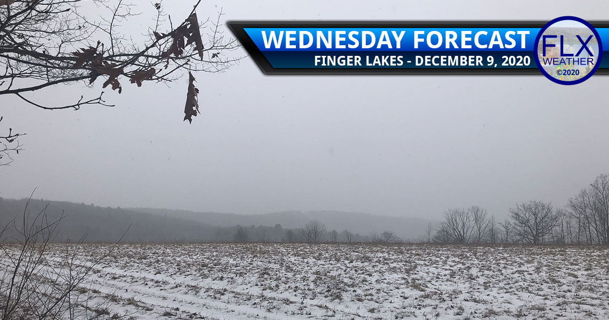 finger lakes weather forecast wednesday december 9 2020 snow rain warming trend