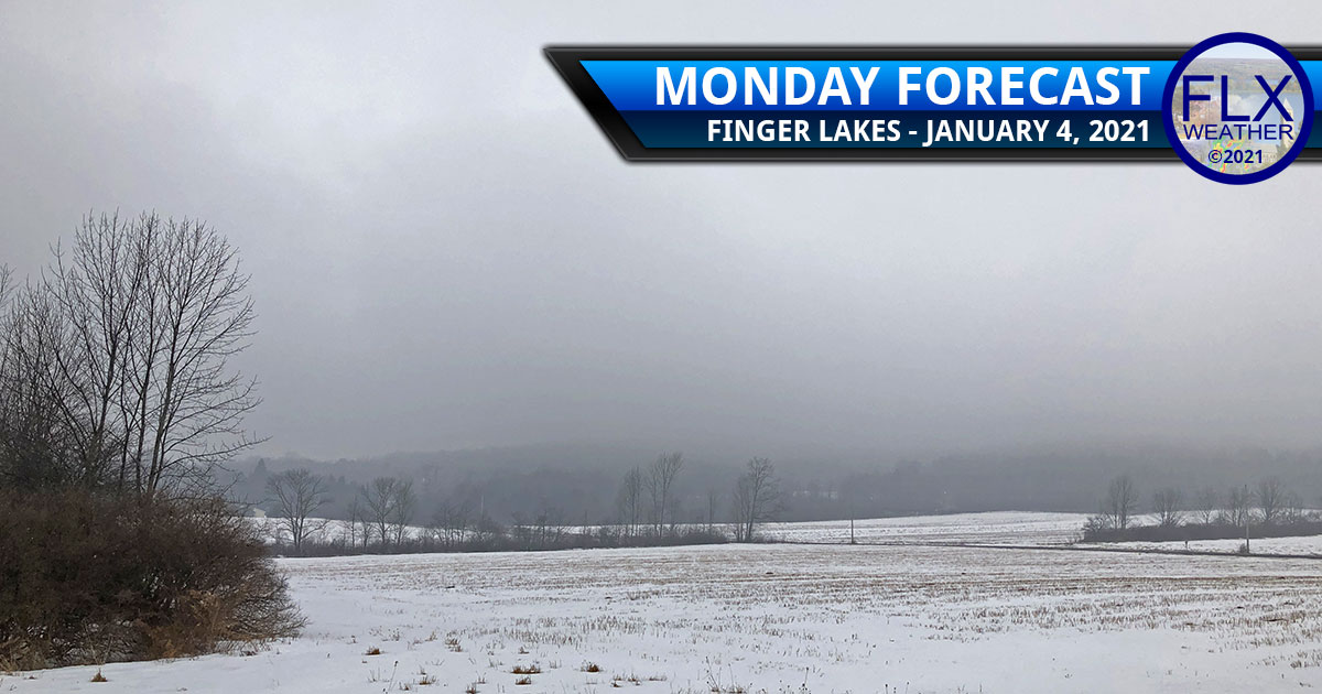 finger lakes weather forecast monday januay 4 2021