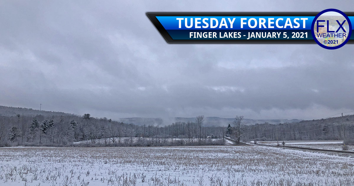 finger lakes weather forecast tuesday janaury 5 2021 clouds fog drizzle flurries