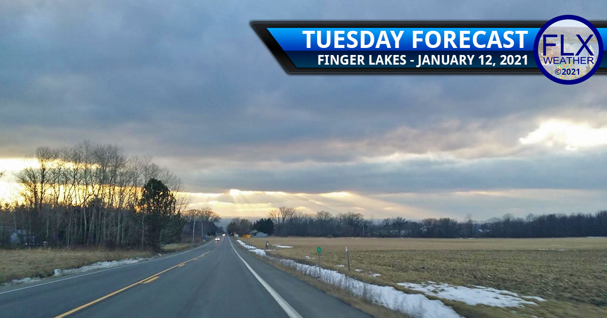 finger lakes weather forecast tuesday january 12 2021 cloudy cool flurries warming trend
