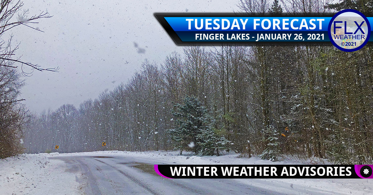 finger lakes weather forecast tuesday january 26 2021
