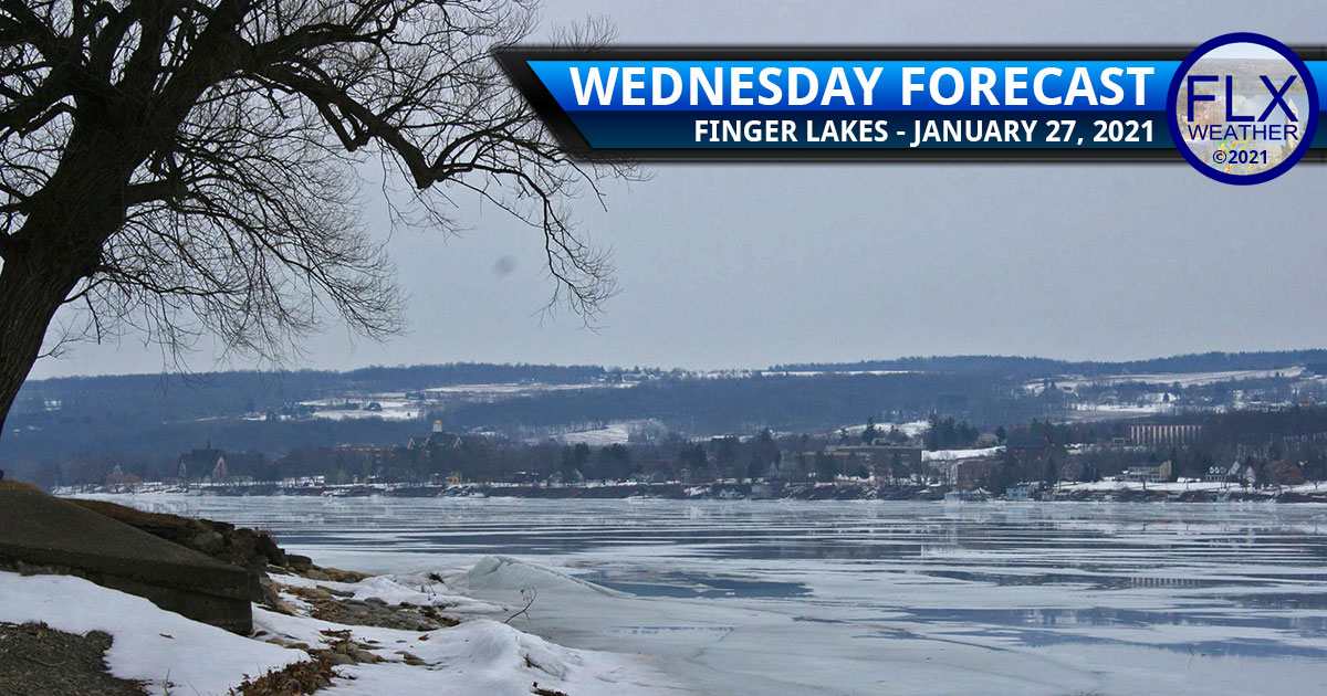 finger lakes weather forecast wednesday january 27 2021 cold snow lake effect snow