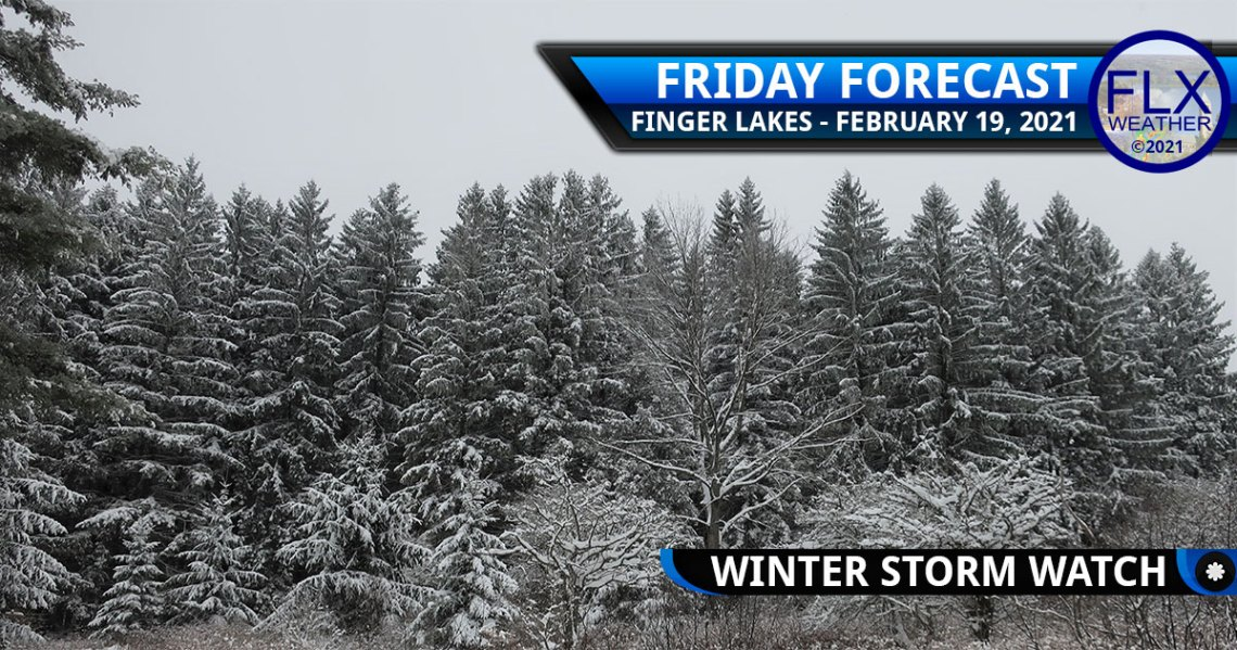 finger lakes weather forecast friday february 19 2021 snow lake effect snow weekend weather