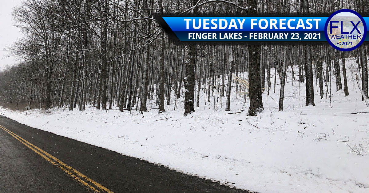 finger lakes weather forecast tuesday february 23 2021 snow warm front