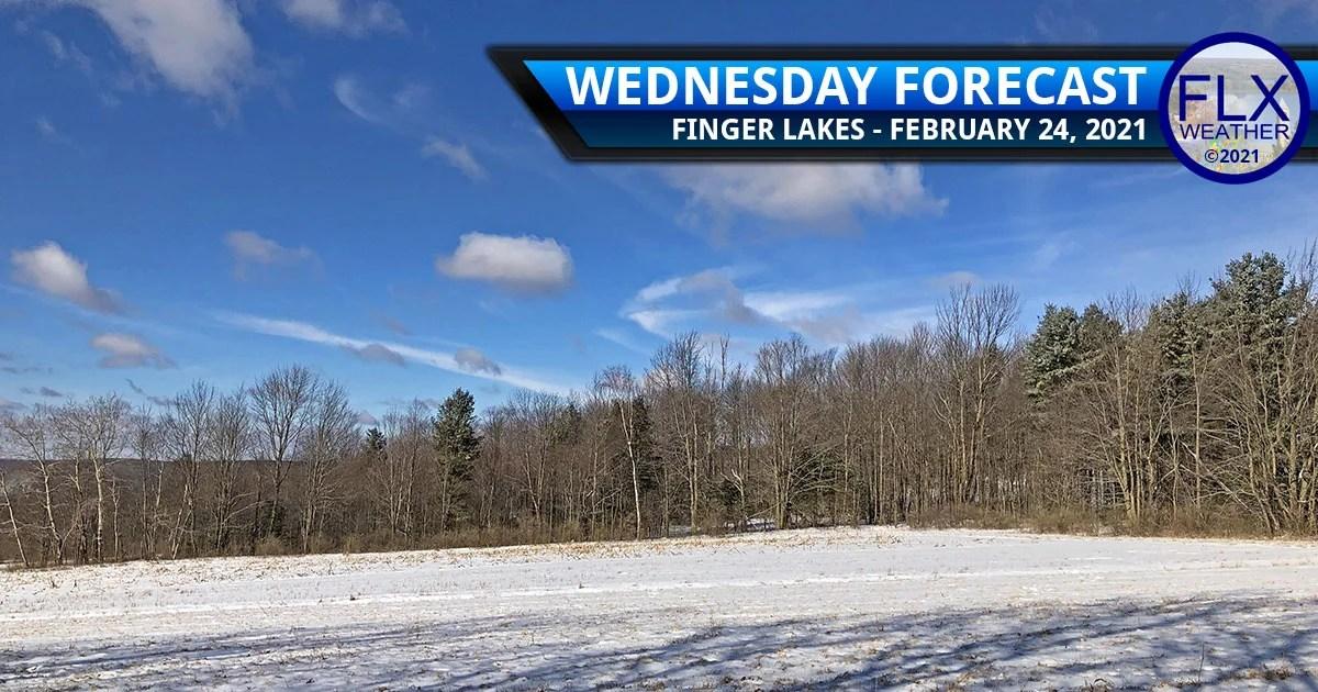 finger lakes weather forecast sun clouds rain showers mild