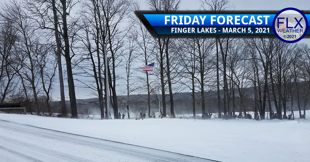 finger lakes weather forecast friday march 5 2021 windy snow cold warmer next week