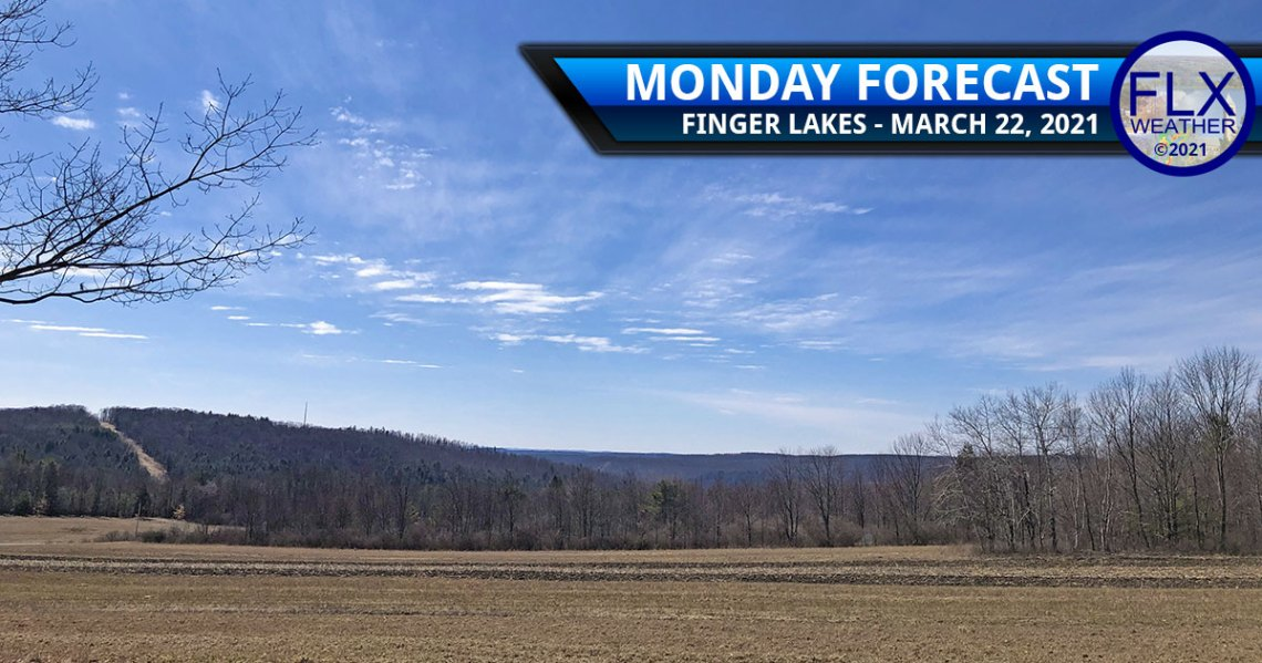 finger lakes weather forecast monday march 22 2021 sunny warm
