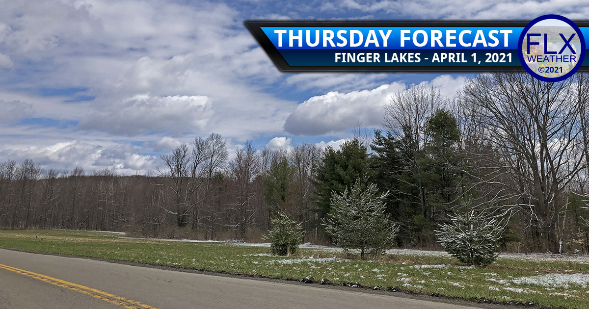 finger lakes weather forecast thursday april 1 2021 cold front snow showers chilly gusty winds