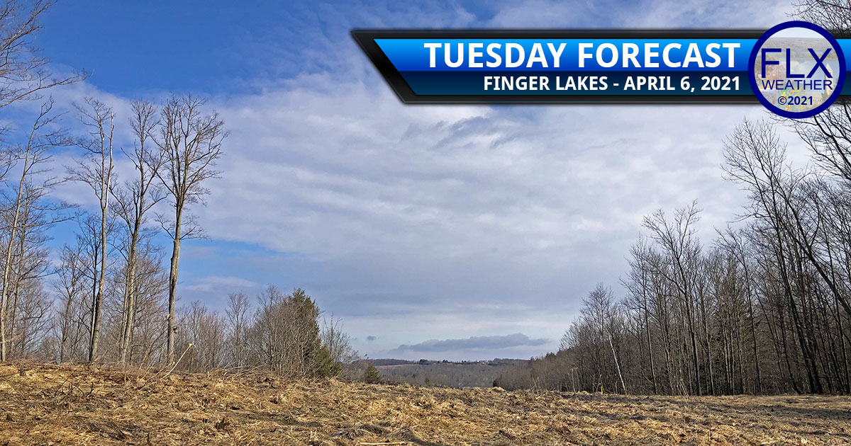 finger lakes weather forecast tuesday april 6 2021 sun clouds showers warm