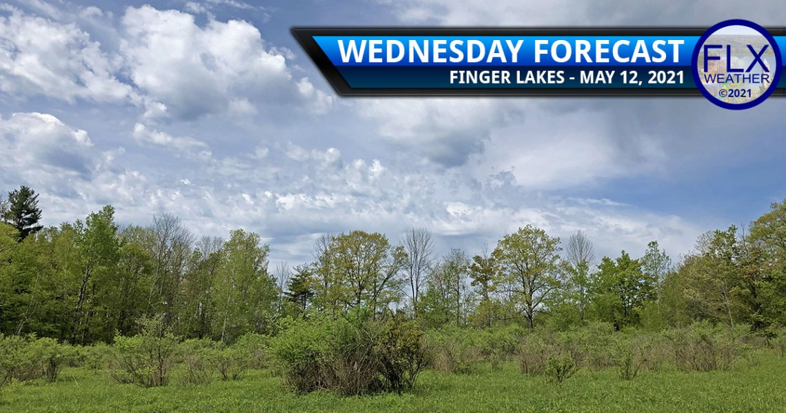 finger lakes weather forecast wednesday may 12 2021 sun clouds warming trend