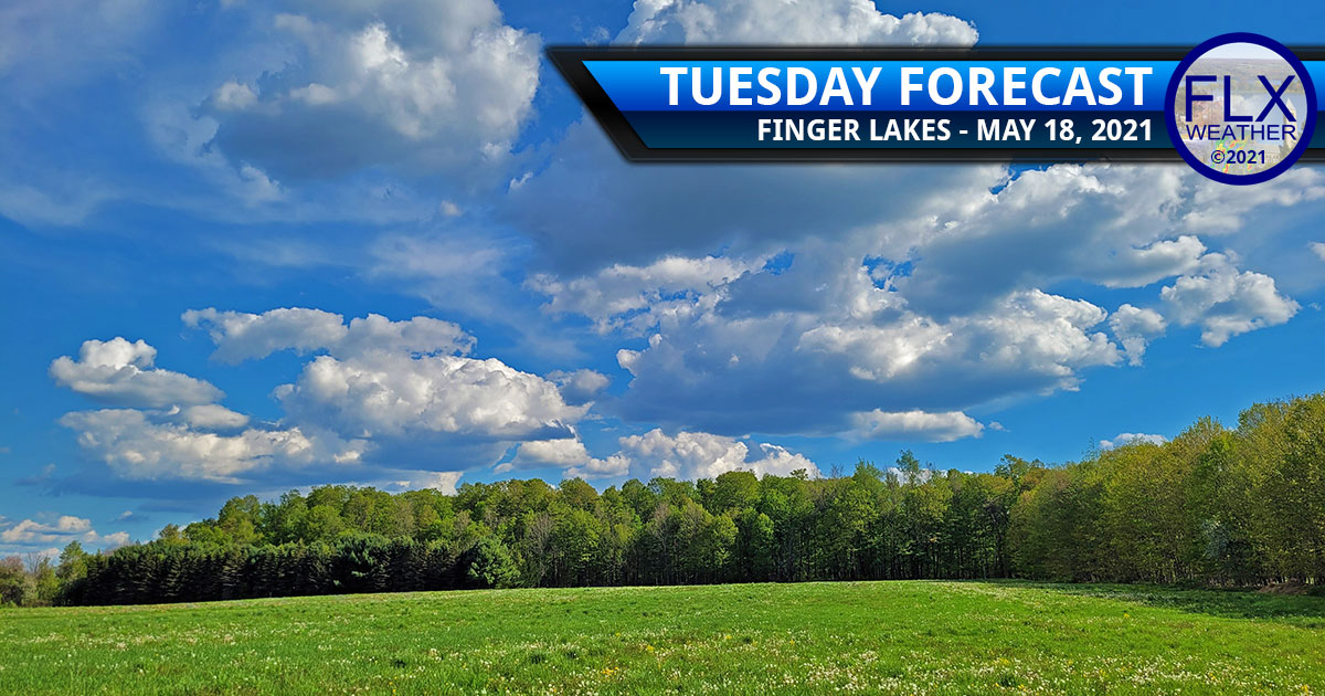 finger lakes weather forecast tuesday may 18 2021 sunny clouds warm above average temperatures