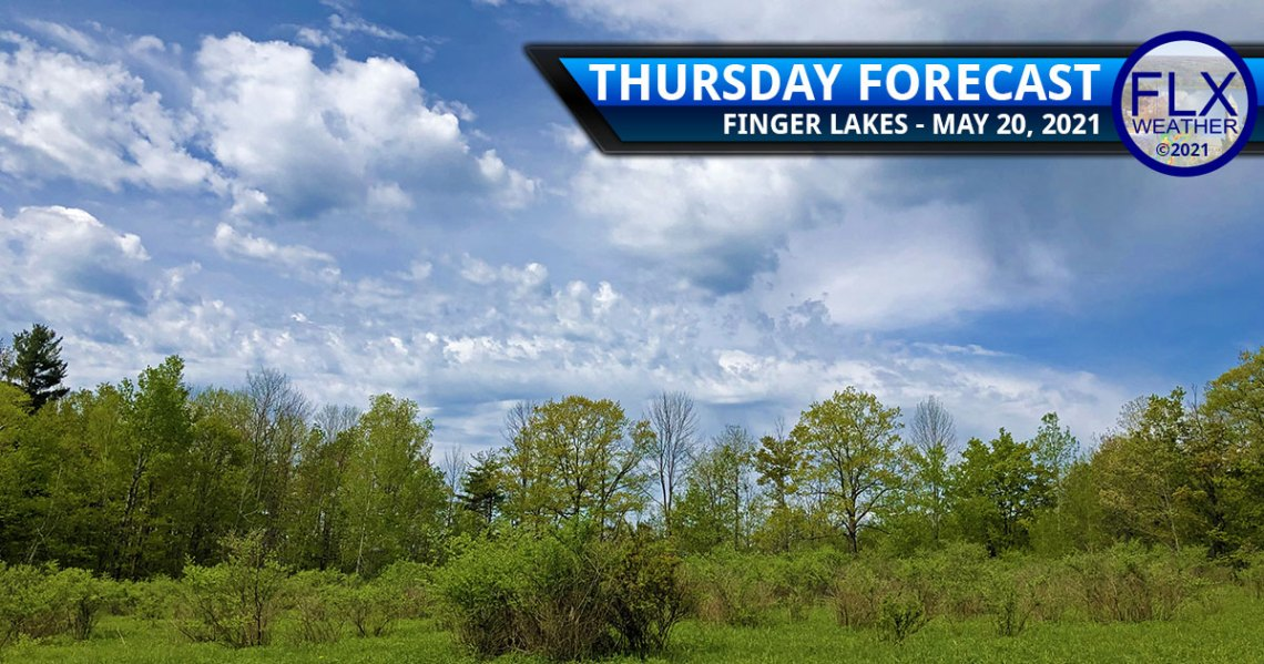 finger lakes weather forecast thursday may 20 2021 clouds sun warm hot