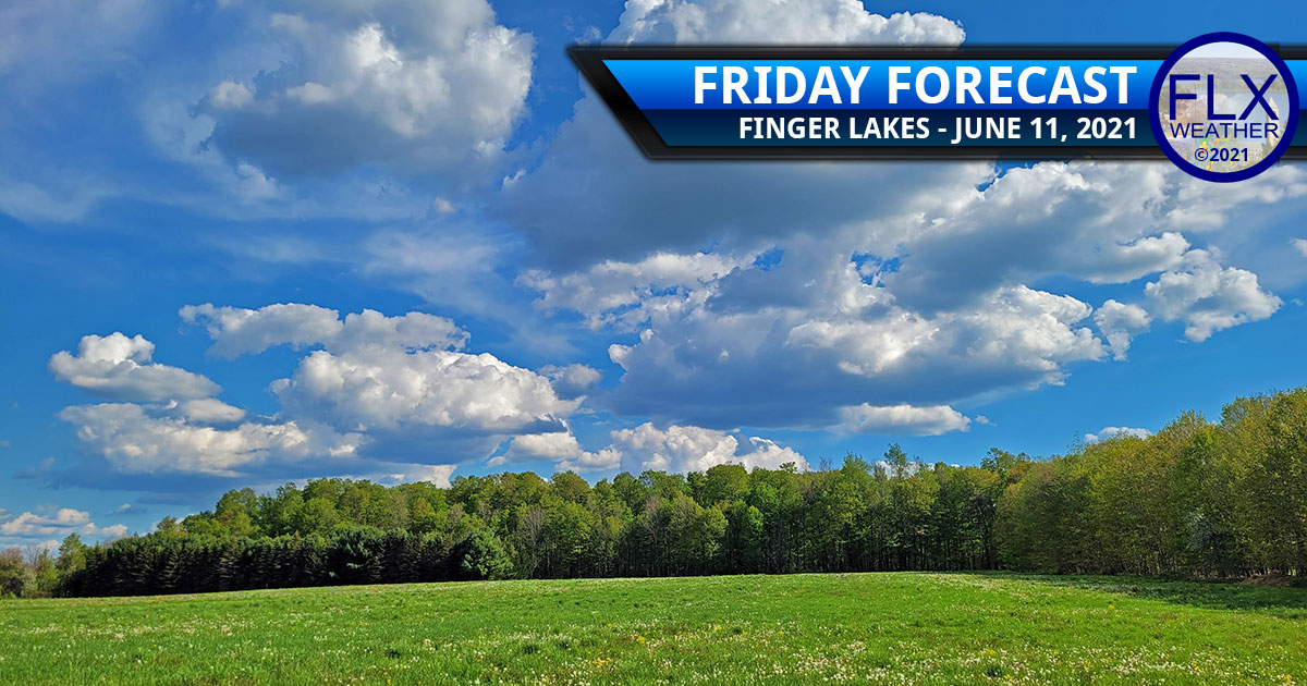 finger lakes weather forecast friday june 11 2021 sun clouds showers mild weekend