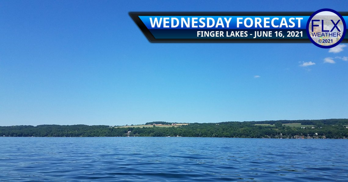 finger lakes weather forecast wednesday june 16 2021 sunny cool