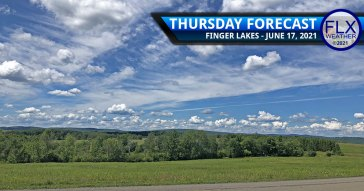 finger lakes weather forecast thursday june 17 2021 sun clouds unsettled weather