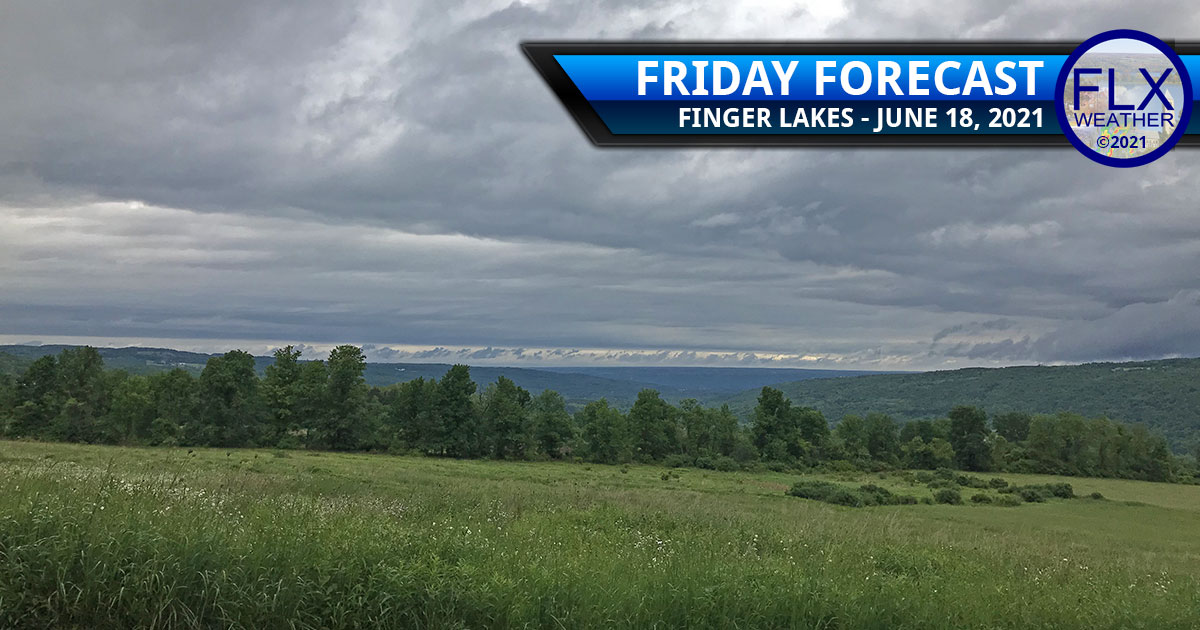 finger lakes weather forecast friday june 18 2021 rain showers thunderstorms humid unsettled fathers day forecast