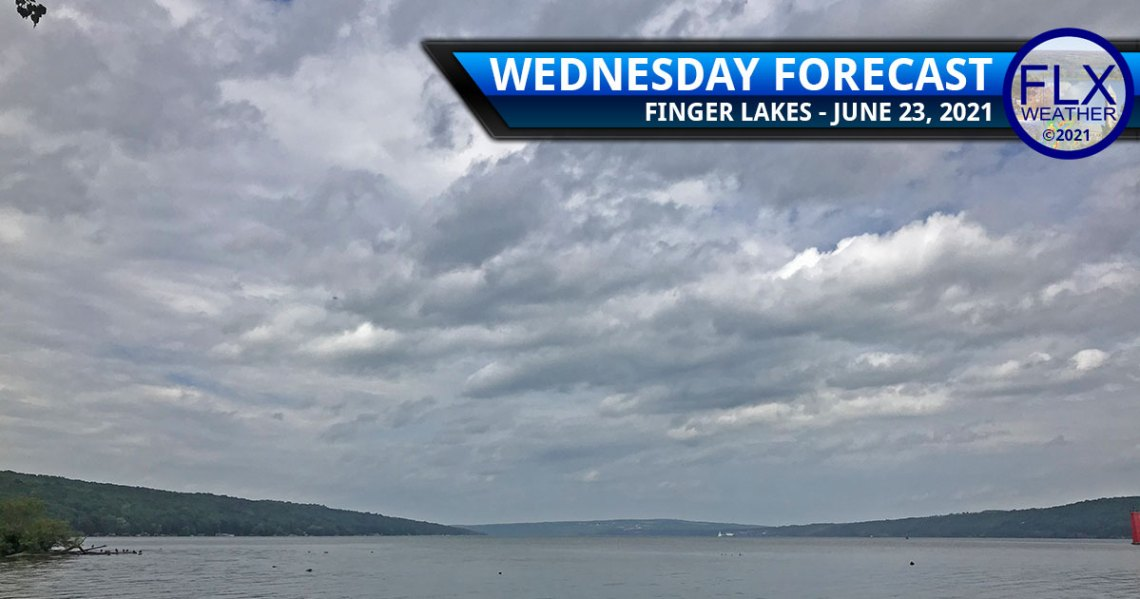 finger lakes weather forecast wednesday june 23 2021 sun clouds