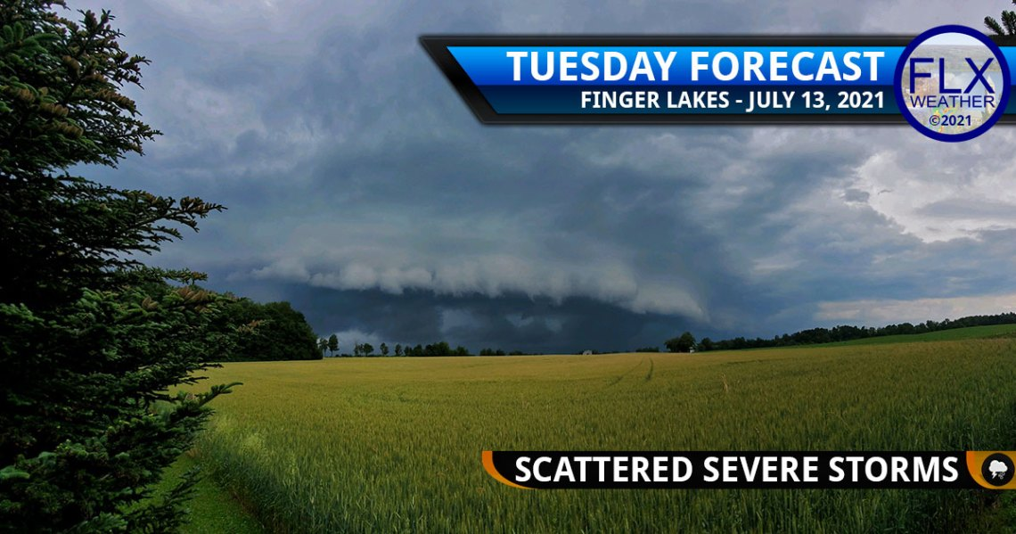 finger lakes weather forecast tuesday july 13 2021 severe thunderstorms tornado flash flooding