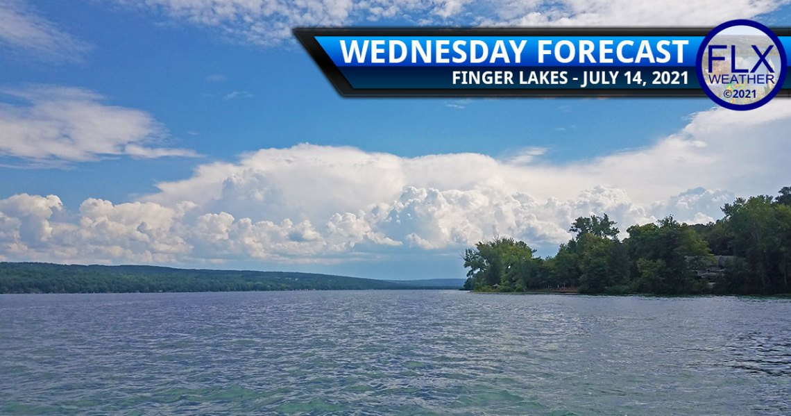 finger lakes weather forecast wednesday july 14 2021 showers thunderstorms sun clouds humid