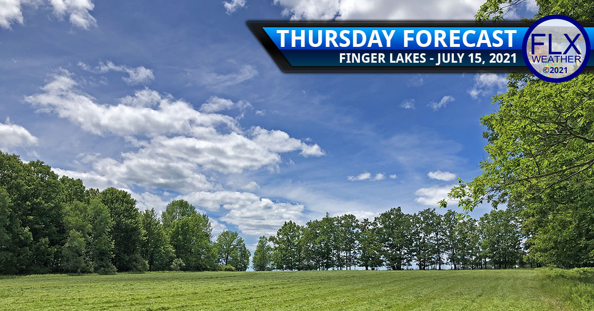 finger lakes weather forecast thursday july 15 2021 sun clouds quiet rain weekend