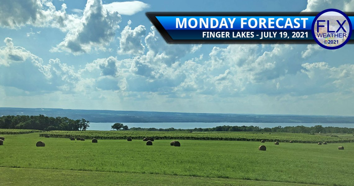 finger lakes weather forecast monday july 19 2021 sun clouds smoke showers