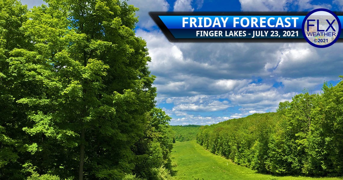 finger lakes weather forecast friday july 23 2021 sun clouds high pressure showers