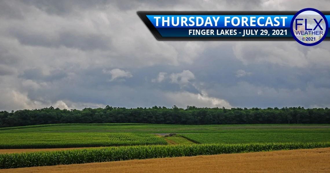 finger lakes weather forecast thursday july 29 2021 showers rain thunder chilly