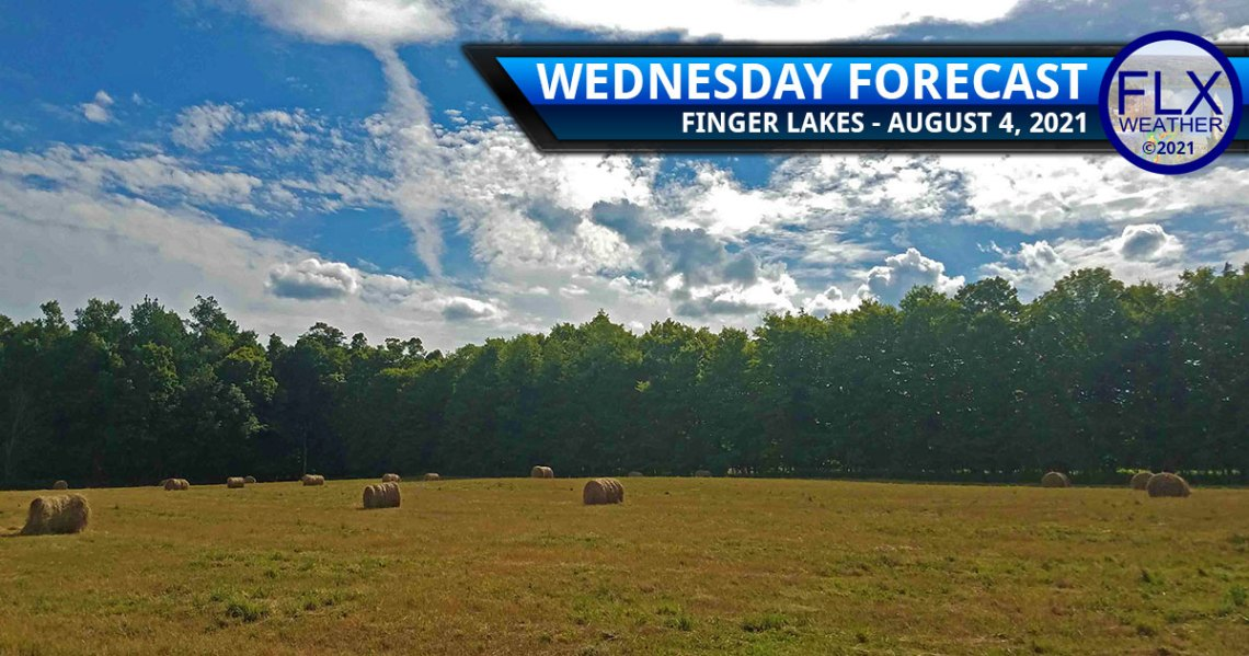 finger lakes weather forecast wednesday august 4 2021 sunny dry warming trend