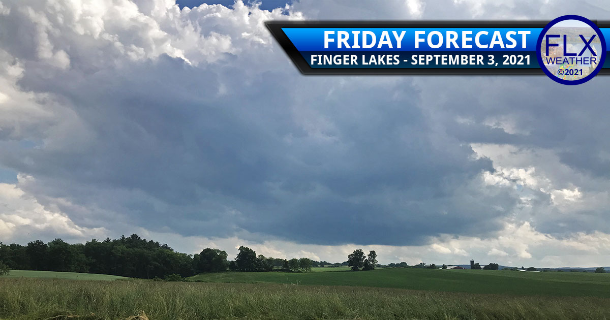 finger lakes weather forecast friday september 3 2021 sun clouds showers thunderstorms