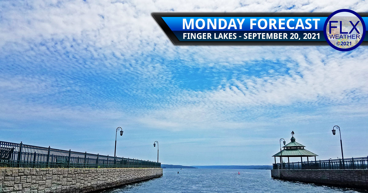 finger lakes weather forecast monday september 20 2021 sun thin clouds mild