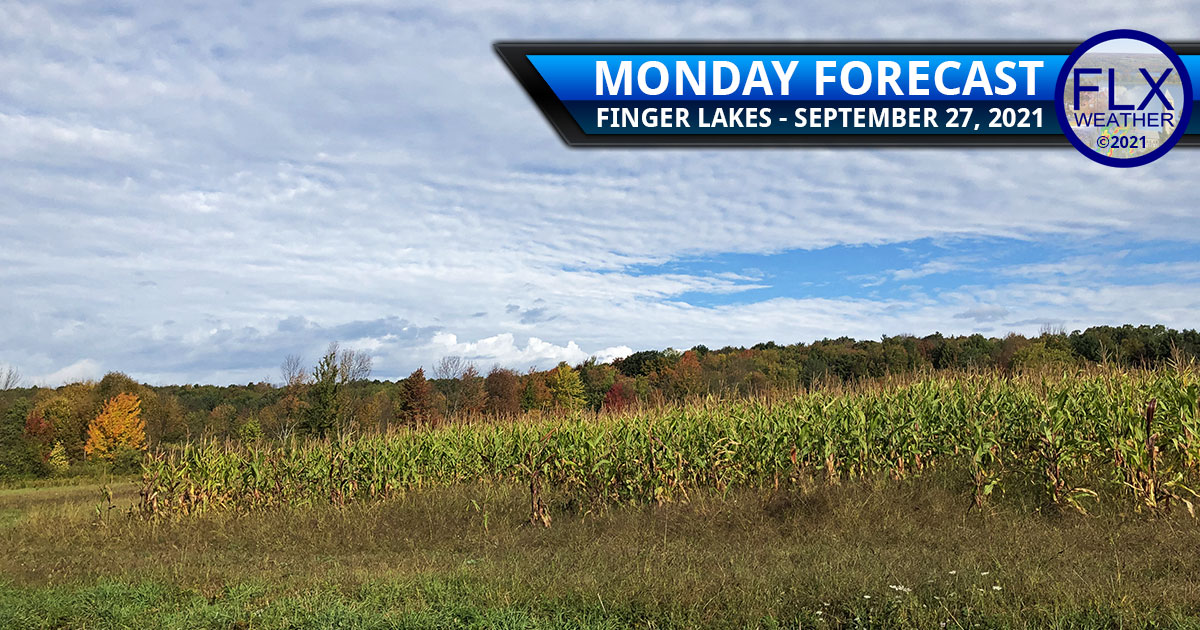 finger lakes weather forecast monday september 27 2021 warm front mild cold front cool