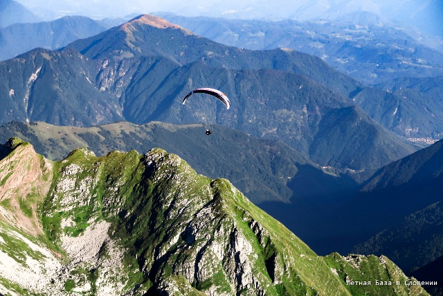 paragliding soca valley