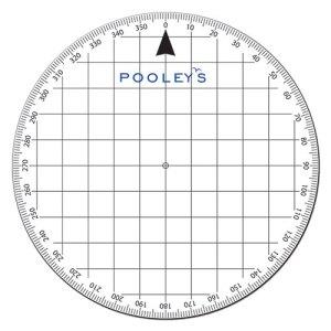 Pooleys PP3 Protractor