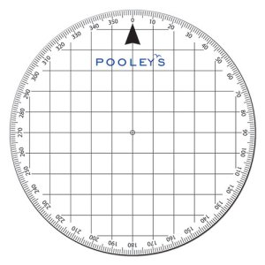 Pooleys PP3 Protractor