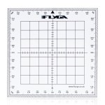 Nautical Map Navigation Protractor (Square)