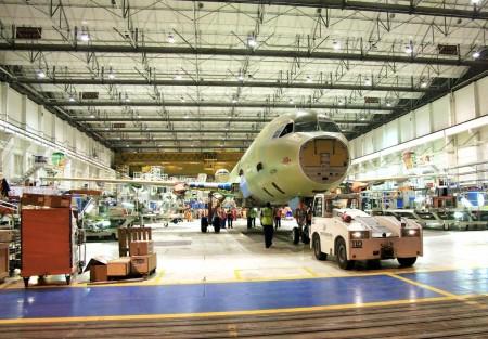 En la cadena de montaje de Toulouse sólo se trabaja sobre aviones A320 a diferencia de las demás, donde se montan todos los miembros de la familia.