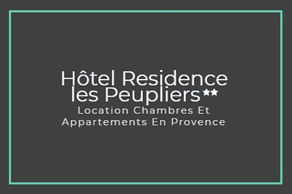 hotel residence les peupliers FLY SORGUE VENTOUX