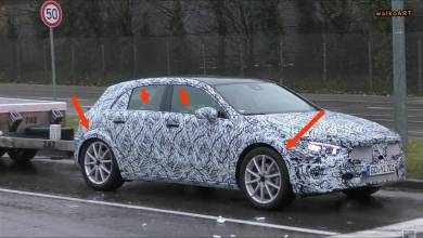 Photo of Next Generation Mercedes Benz GLA Spied for first time