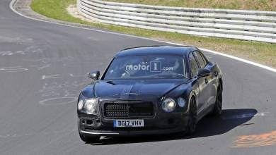 Photo of 2019 Bentley Flying Spur Shows Its Weird Camo At The Nurburgring