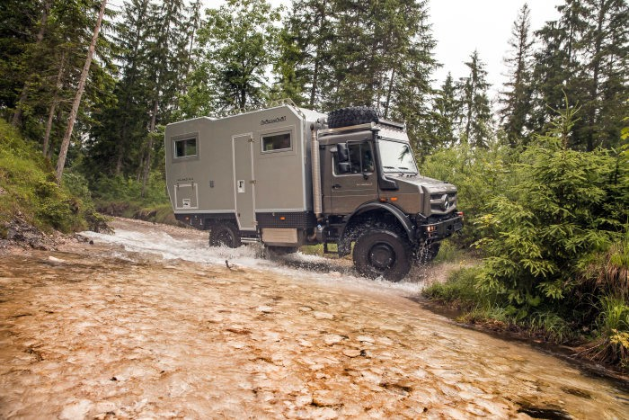 World's Largest Off-Road Show Features Mercedes-Benz Special