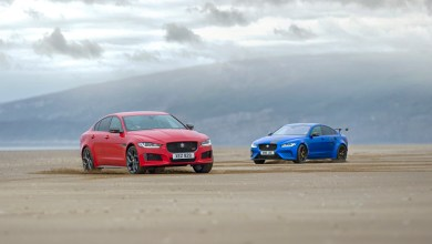 Photo of JAGUAR XE 300 SPORT AND SV PROJECT 8: TWO CARS, ONE DNA