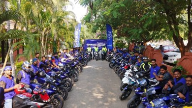 Photo of Yamaha India 'The Call of the Blue.' campaign.