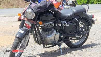 Photo of Upcoming Royal Enfield Classic spied ahead of its official unveil.