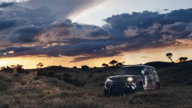 Photo of NEW LAND ROVER DEFENDER COMPLETES TUSK TESTING TO SUPPORT LION CONSERVATION IN KENYA.