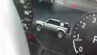 Photo of The upcoming Land rover Defender's design cues are much obvious through its Instrument cluster.