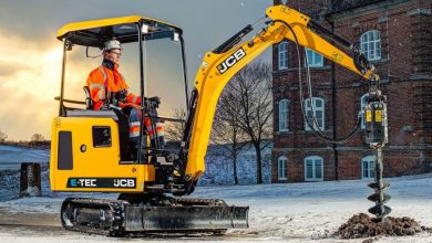 Photo of JCB's Electric excavator production goes into full swing.