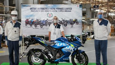 Photo of Suzuki Motorcycle India rolls out 5 millionth vehicle from its Gurugram plant