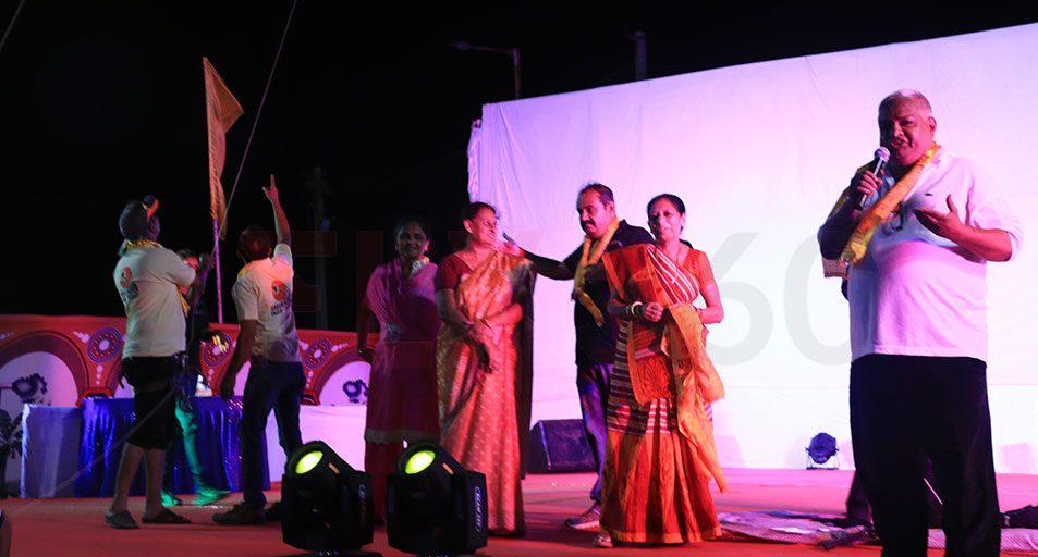 Speech by Ashok shah at Beach Kite Festival